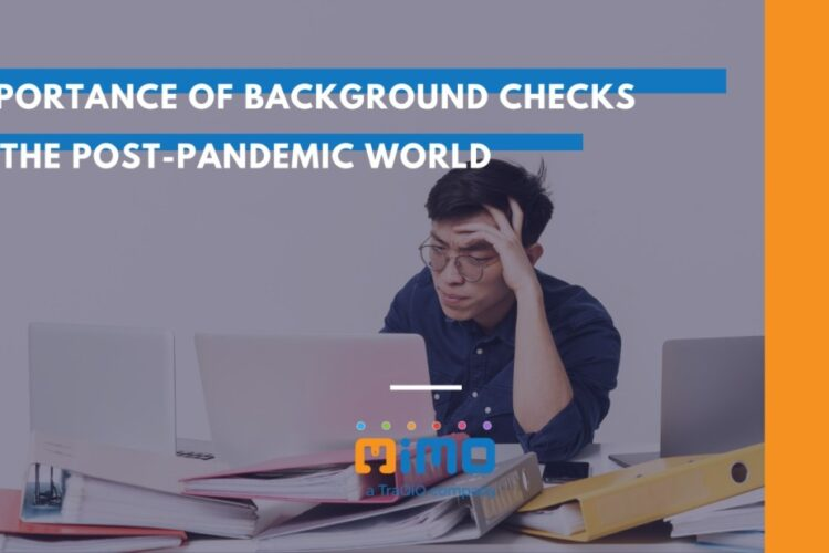 A background check can include a credit score, former employment, and litigation in addition to looking into someone's criminal history to determine someone's dependability as a possible employee.