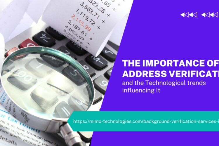 The importance of Address Verification: MIMO
