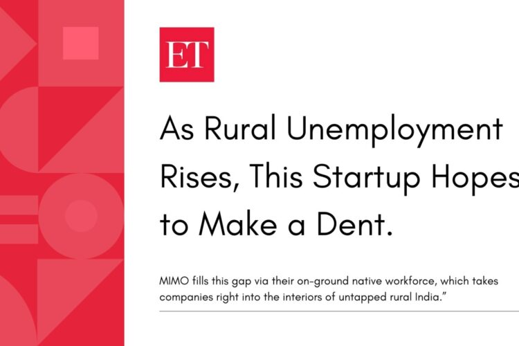 As rural unemployment rises, this startup hopes to make a dent.