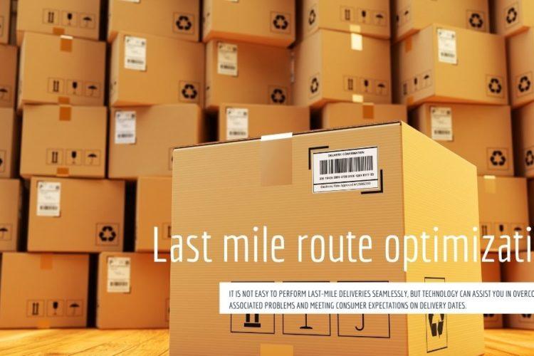Last mile route optimization